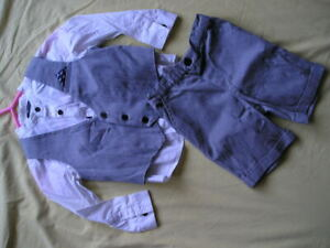 BOYS 3 PIECE SUIT SET AGE 3-4 YEARS BY V  BY VERY IDEAL WEDDING PARTY OUTFIT FOR