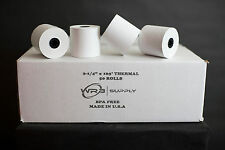 Perfection One Ply Thermal Paper Rolls, 2.25 inches x 165 feet (Case of 50)