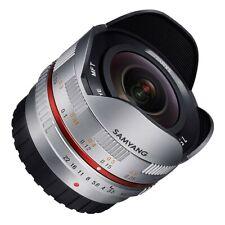 Samyang 7.5mm F3.5 Fish Eye Lens Micro Four Thirds (MFT) Silver  -  Ex-Demo
