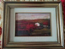 Quadro a olio su tela del pittore Duren - originale anni '60 - Prezzo ribassato