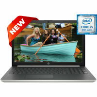 NEW HP 15.6 LED Intel Core i5-8265U 3.90GHz 8GB Ram 256GB SSD Drive Win10 Laptop