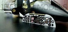 INSTRUMENT PANEL For FUNKEY AIRWOLF / BELL 222 600 size fuselage