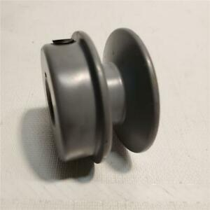 """2"""" pulley 1/2"""" & 5/8"""" & 3/4"""" & 7/8"""" bores Cast Iron"""