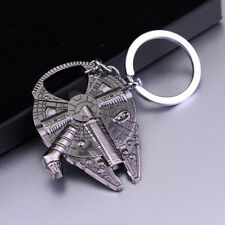 Star Wars Millennium Falcon Keychain Ring Keyring Metal Bottle Opener Cool Gift
