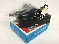 Vintage Trident Travel Iron with Travel Case and box prop theatre 932