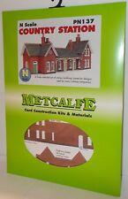 Metcalfe PN137 Country Station N Gauge Card Kit