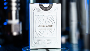 Star Wars Light Side Silver Edition Playing Cards (White) by Theory11