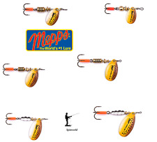 Mepps Brown Trout Spinner Micropigments Variety Sizes Size -2 Weight - 4 5g.