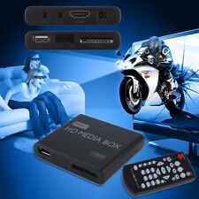 Mini Full 1080p HD Media Player Box MPEG/MKV/H.264 HDMI AV USB + Remote LE