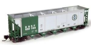 Exactrail BNSF Green Johnstown Autoflood II Coal Car w Load N Scale EN-51752-6