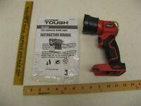 LED Hyper Tough 20 Volt Lithium-ion  Cordless Flashlight Work Light (Tool Only)