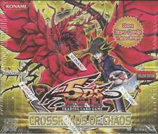 YUGIOH CROSSROADS OF CHAOS BOOSTER BOX BLOWOUT CARDS