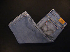 Levis 515 Womens Capri Jeans 30 x 17 MEASURED