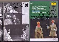 2DVD Felicity LOTT Anne Sofie Von OTTER Signed STRAUSS Der Rosenkavalier KLEIBER