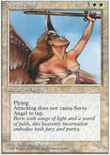 Serra Angel ~ Heavily Played 4th Edition Fourth UltimateMTG Magic White Card