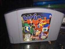 Banjo-Kazooie (Nintendo 64, 1998)AUTHENTIC CART ONLY