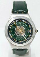 Orologio Swatch irony irish weekend aluminium 1995 watch YGS4001 vintage clock