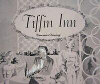 Vintage Tiffin Inn Restaurant Menu Souvenir Gracious Dining Denver CO 1958