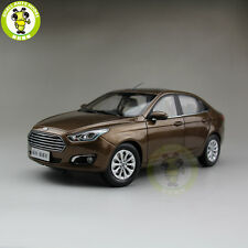 1:18 Ford ESCORT Diecast model car for collection gifts hobby Brown