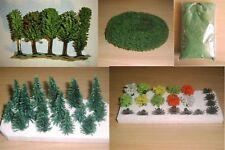 Landschaftsset ~ Bäume,Streu,Büsche, Hecke, Spur N
