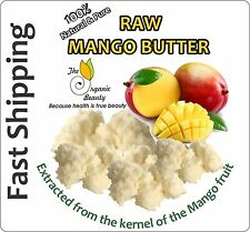 8oz 100% Pure RAW Mango Butter Fresh, Natural, Refined  Free Shipping (For Skin)