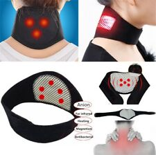 Neck Heat Therapy Support Belt Self Heating Tourmaline Magnetic pain Wrap Brace