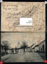 99754;Vitis Marktplatz um 1920