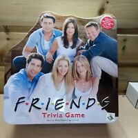 FRIENDS Trivia Game (Collector's Edition Tin) 2002 COMPLETE