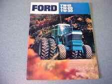 Ford TW-10, TW-20, TW-30 Farm Tractor brochure                      lw