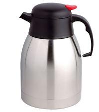 1.5L STAINLESS STEEL TEA POT INSULATED VACUUM JUG FLASK COFFEE TRAVEL POT