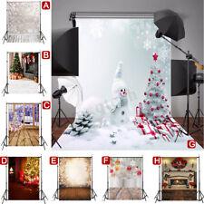 5X7FT фото фона дерево снег винил студия фотографии реквизит фон арт