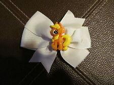 My Little Pony White Hair Bow  (Handmade)