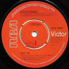 DAVID BOWIE - TVC 15 / WE ARE THE DEAD  - ORIGINAL ICONIC CLASSIC 70s GLAM ROCK