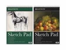 3 x Easynote A3 Spiral Sketch Pad - 20 Sheets Premium Quality 170gsm White Paper