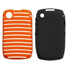 Orange/Black Fusion Hybrid Shell +Silicone Case for Blackberry Curve 9330 / 9300