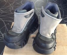 Vintage Swear Cyber, Goth, Steampunk, Rave Platform Boots  SIZE UK 3, 36