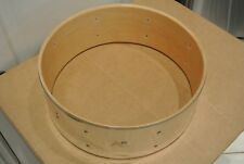 """70's/80's LUDWIG 14"""" ROCKER CHROME over WOOD SNARE DRUM SHELL for YOUR SET! M120"""