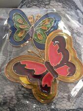suncatcher stained glass *butterflies*