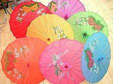 JAPANESE S 56cm PARASOL CHINESE WEDDING DANCE FANCY PARTY UMBRELLA pick color