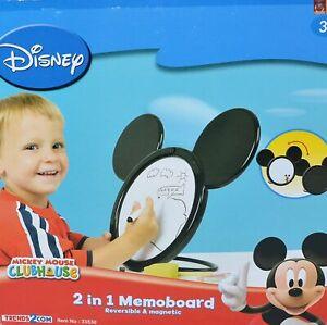 Blackboard, Disney Mickey Mouse Toodle Ears 2in1 Kids Whiteboard, Blackboard,