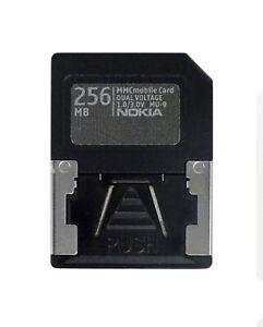NOKIA 256MB MMC Mobile Memory Card Dual Voltage 1.8/3.0V MU-9