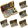 10 Farben Lidschatten Palette Schimmer Make Up-Kosmetik Glitzer Set mit Pin V7D8