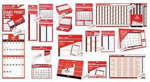 2022 WALL CALENDAR SLIM/EASY MONTH TO VIEW/LARGE MONTH TO VIEW/GAINT CALENDAR