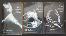 FIFTY SHADES of Gray / Darker / Freed - Series of 3 Softcover Books - E L James