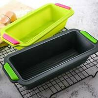 Silicone Rectangular Bread Pan Mold Baking Accessories Cake Tray Mould