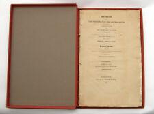 War of 1812, Original Dartmoor Prison report by James Monroe, President.