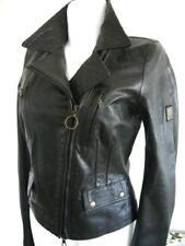 BELSTAFF Leather-Jacket Lady antiqueblack dt.Gr. L TOP!