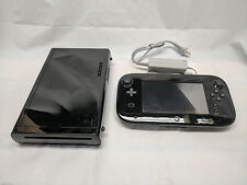 Nintendo Wii U 32GB Black System Bundle (Controller w/ Cord, Console Only)