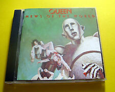 """CD """" QUEEN - NEWS OF THE WORLD """" 11 SONGS (WE WILL ROCK YOU)"""