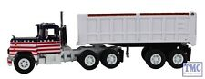 60-0274 First Gear 1:64 Mack R Model Mack All-American 22' End Dump Trailer